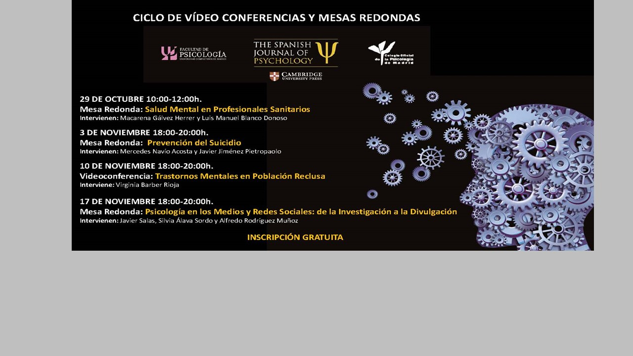 Ciclo de Conferencias The Spanish Journal of Psychology